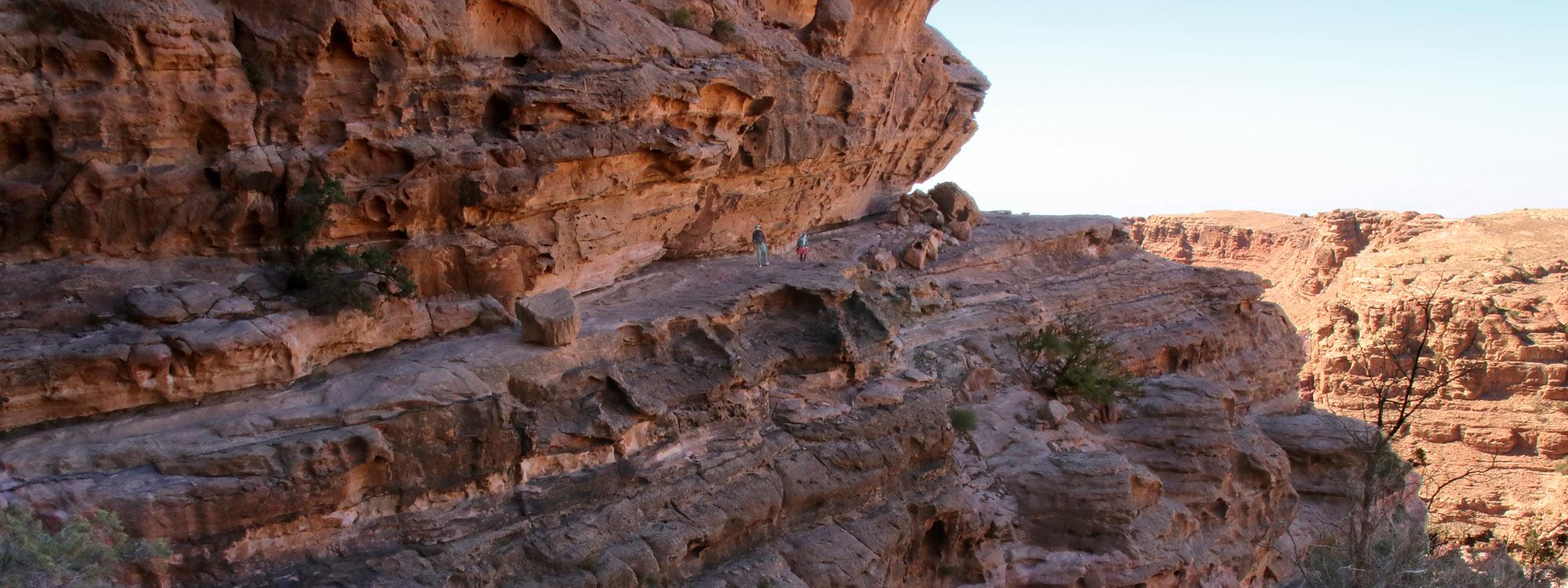 Petra back door hike
