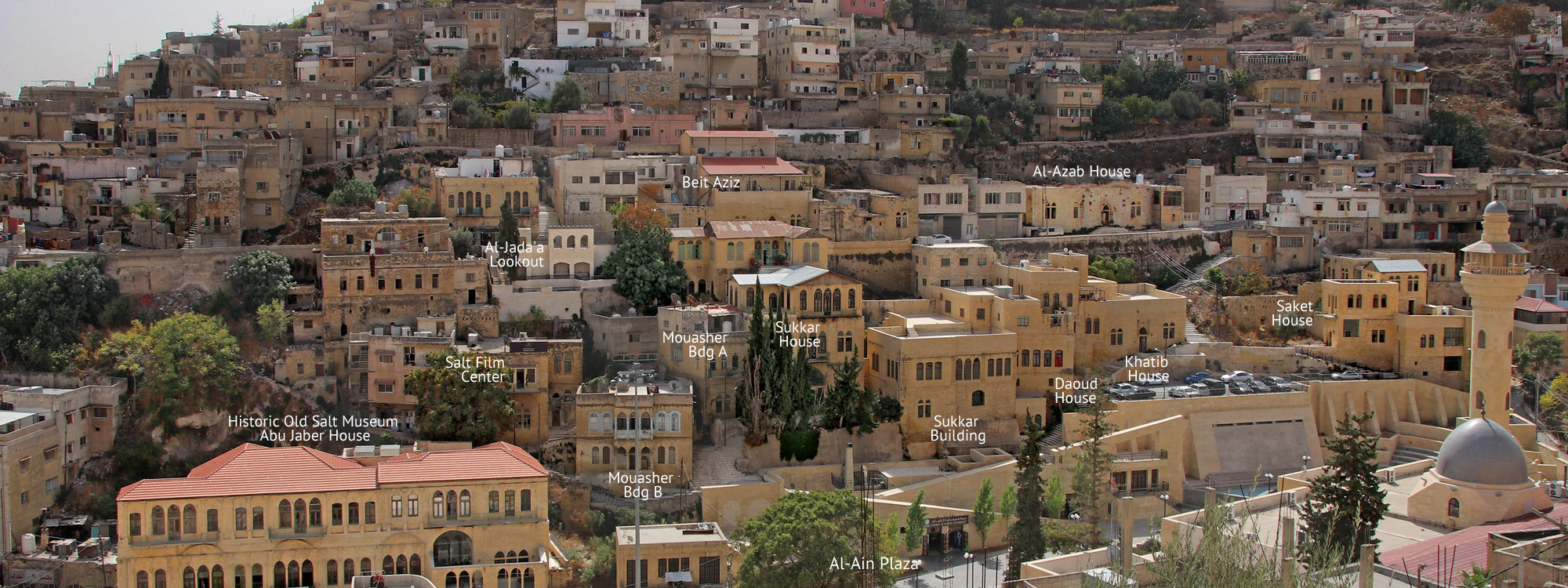 Weg 1: Jebel Jada'a