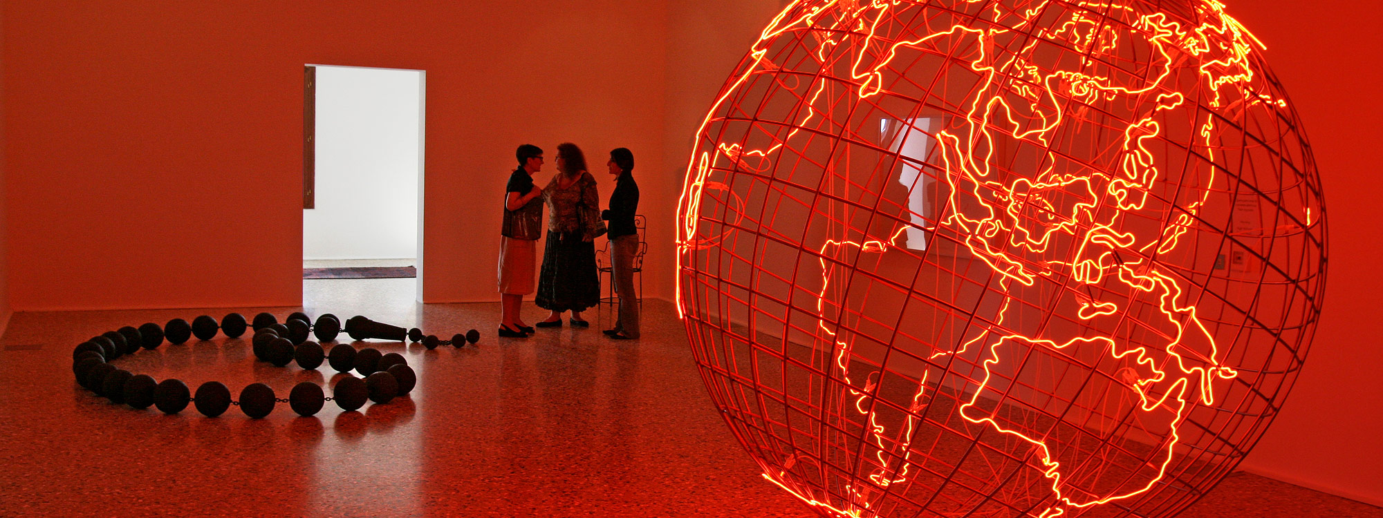 Mona Hatoum. © Photo: Universes in Universe