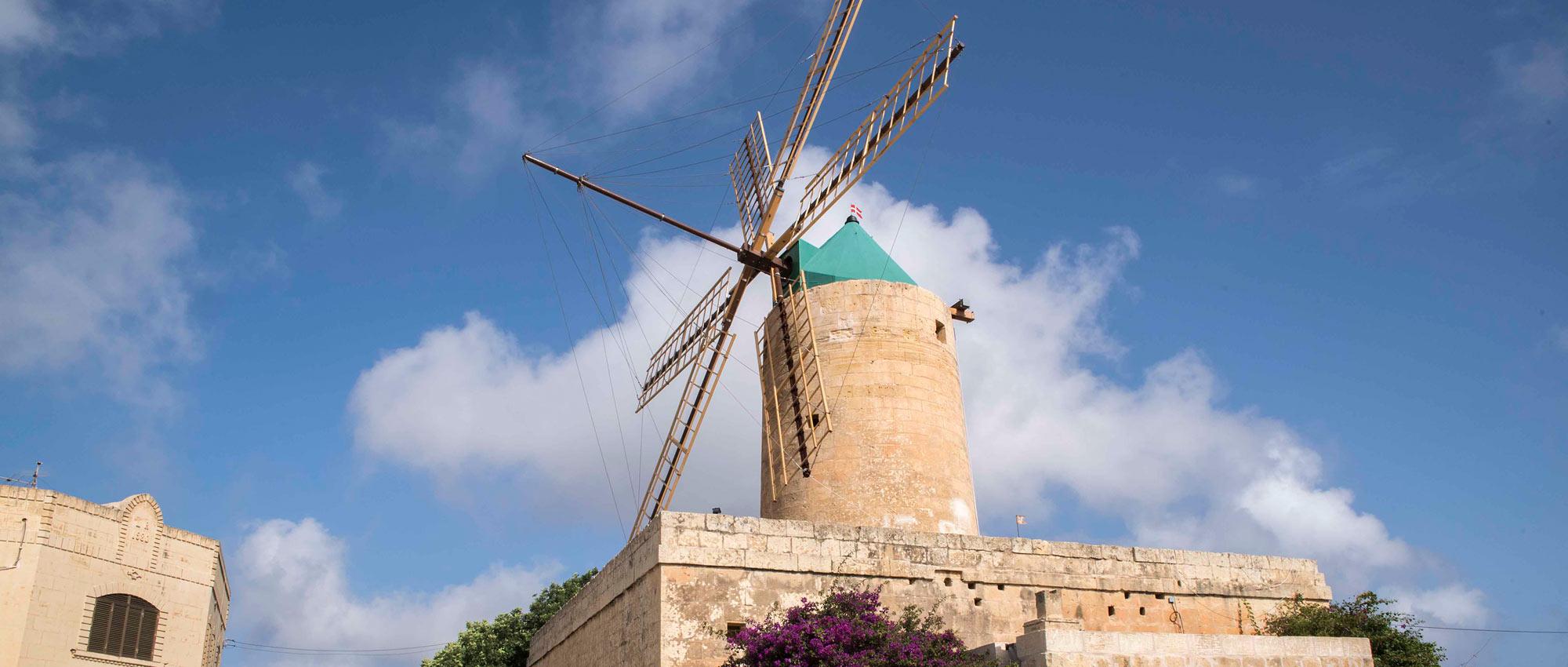 Ta' Kola Windmill, Gozo
