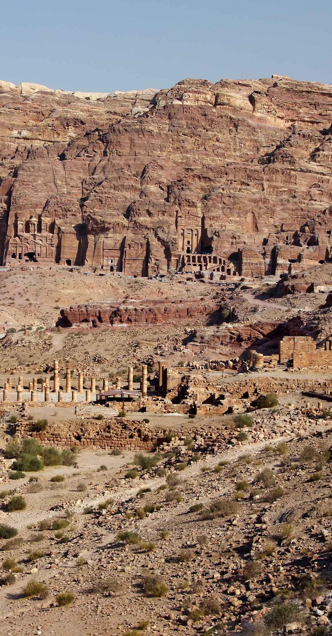 Petra - city center