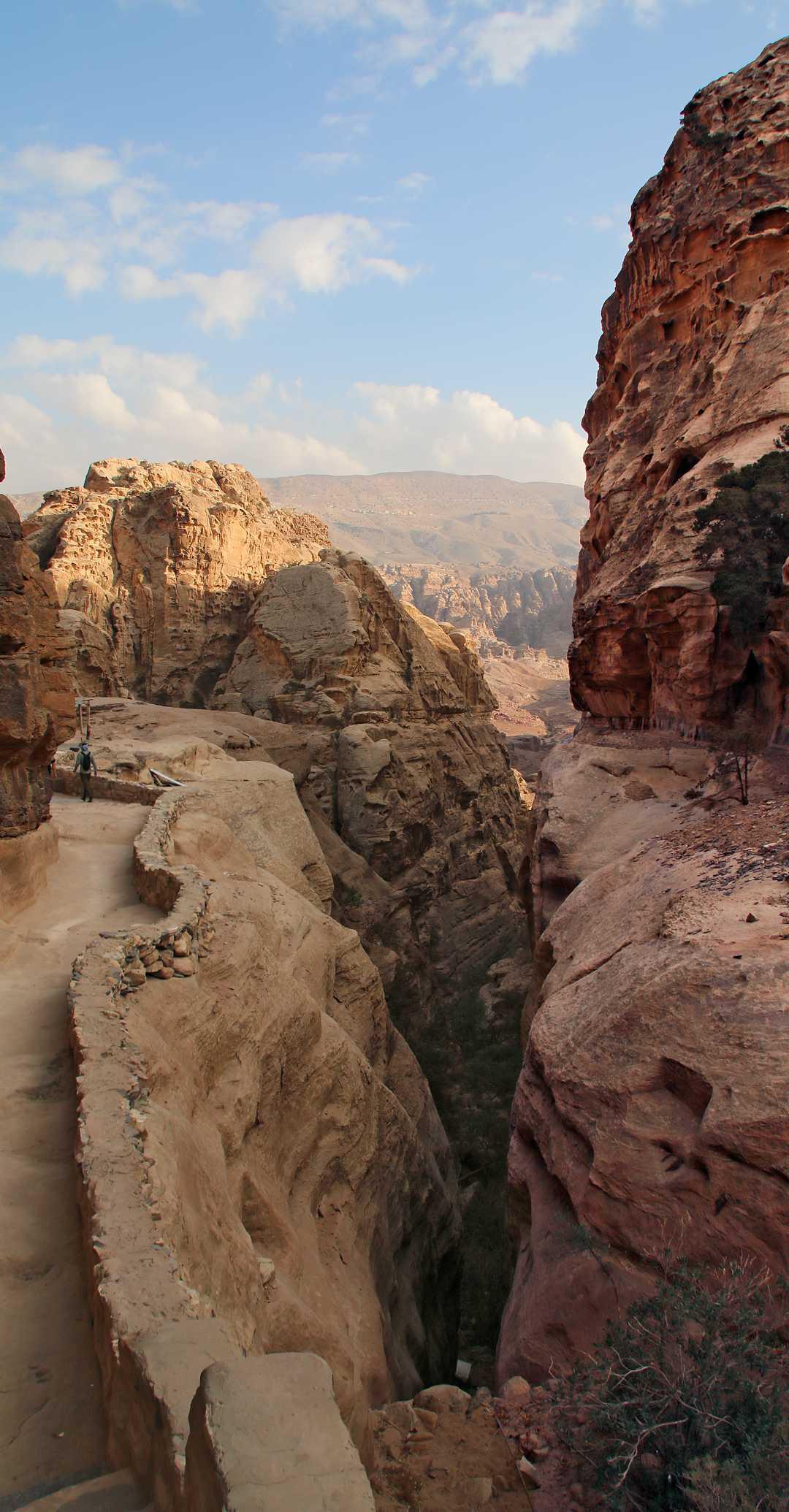 Trail to Ad Deir