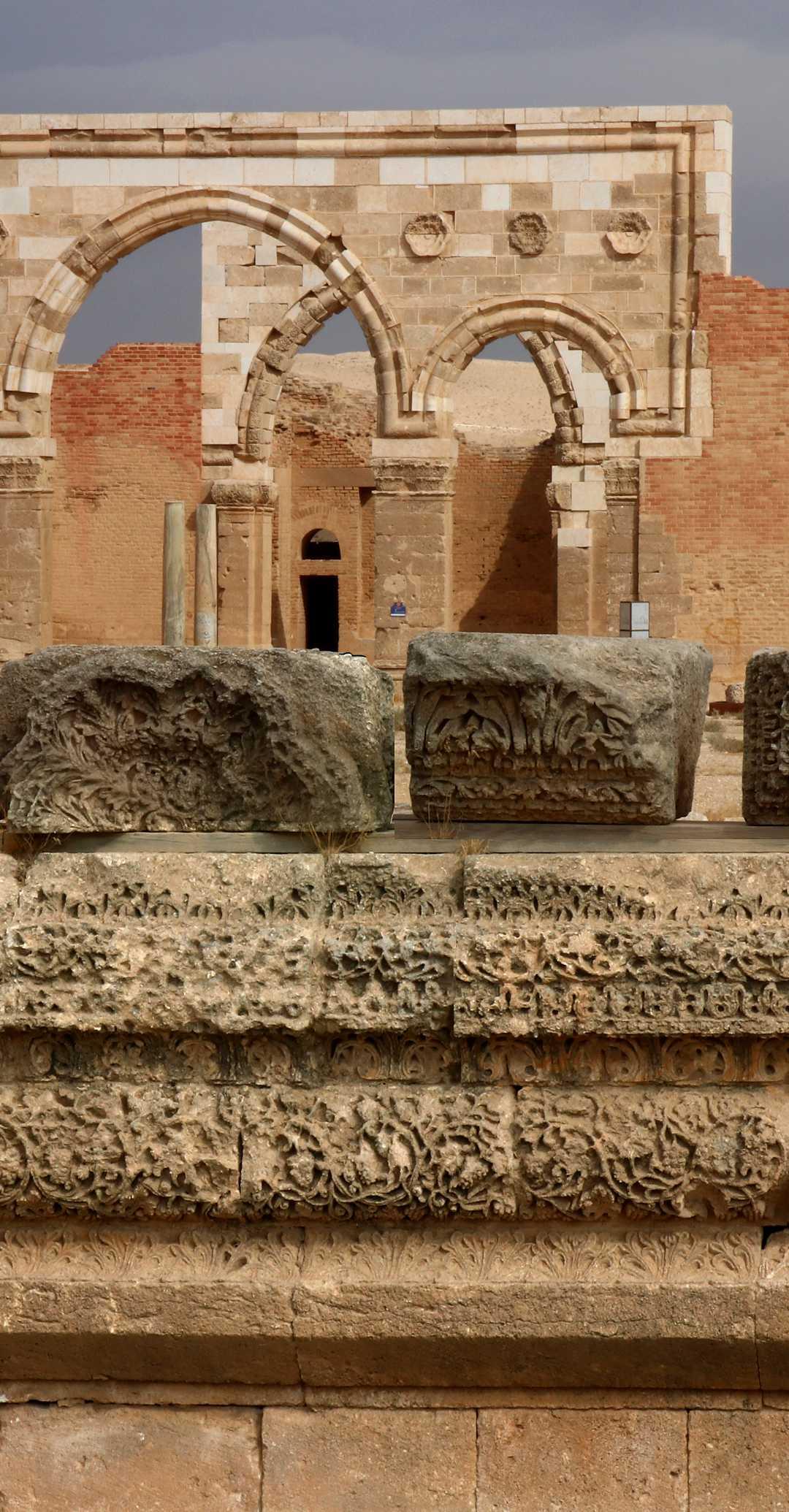 Mschatta Palast in Jordanien