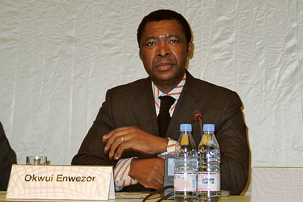 Okwui Enwezor. © Photo: Haupt & Binder, universes.art