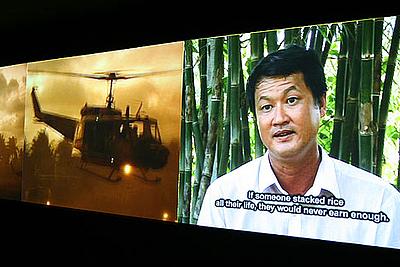 Dinh Q. Lê: Los agricultores y los helicópteros