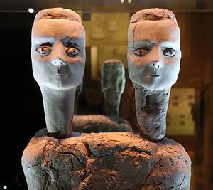 Ain Ghazal statues