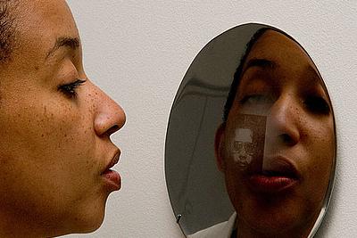 Oscar Muñoz: Mirror Image