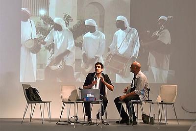 Tarek Atoui in conversation with Tarek Abou El Fetouh