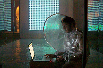 New media art projects and concerts