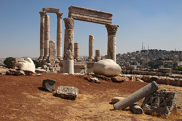 [Translate to DE:] Amman Citadel