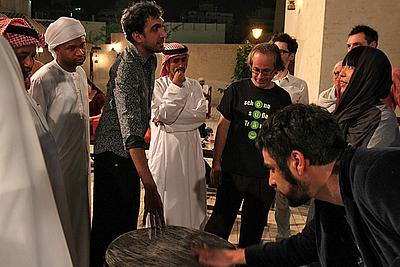Tarek Atoui workshop