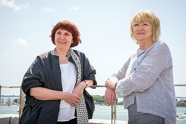 Yvonne Farrell and Shelley McNamara. © Photo: La Biennale di Venezia
