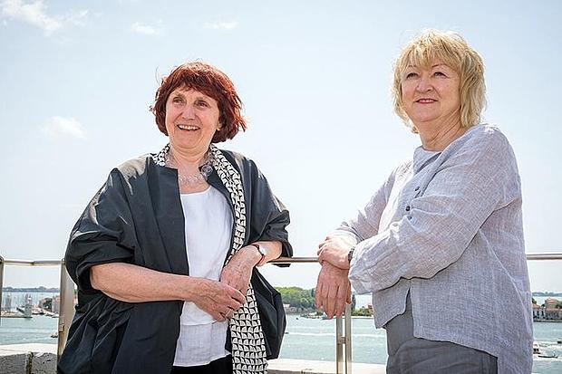 Yvonne Farrell and Shelley McNamara. © Foto: La Biennale di Venezia