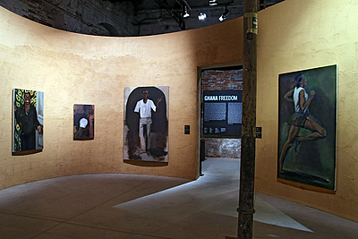 Pavilion of Ghana: Lynette Yiadom Boakye