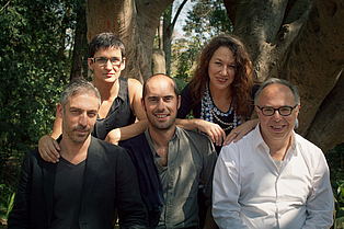 Charles Esche, Galit Eilat, Nuria Enguita Mayo, Pablo Lafuente, Oren Sagiv