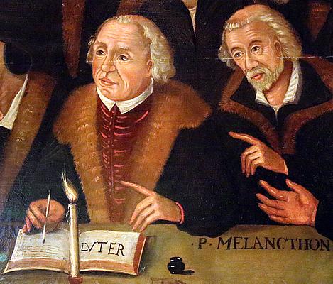 Luther Und Melanchthon