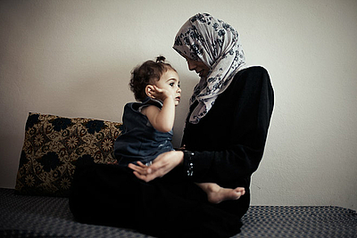 Tanya Habjouqa: Ehefrauen der syrischen Revolution