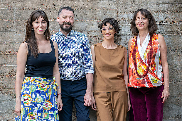 Curators of the Berlin Biennale 2020. © Photo: F. Anthea Schaap