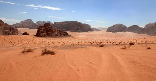 Wadi Rum - inicio