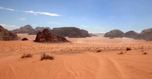 Wadi Rum - Start