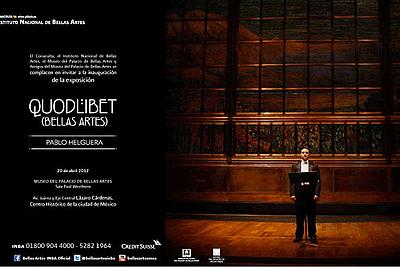 Pablo Helguera: Quodlibet (Bellas Artes)