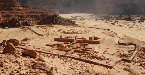 Nabatäischer Tempel