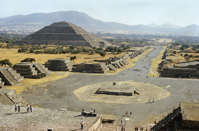 Teotihuacán - archeological site