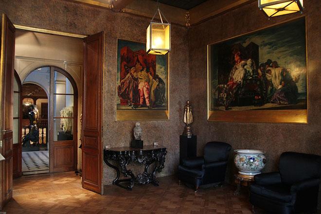 Sala art dec decoraci n de jos mar a sert museo de for Art deco decoracion