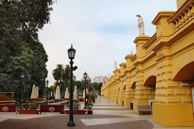 Terrace of buenos aires design centro cultural recoleta for Ce design buenos aires
