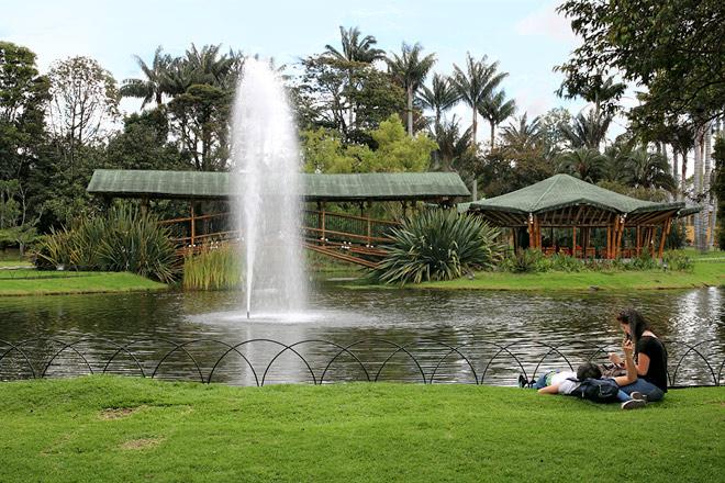 Botanical gardens jos celestino mutis tour teusaquillo for Jardin kolumbien