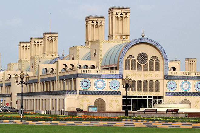 Central Souk or Blue Souk  Art Destination Sharjah