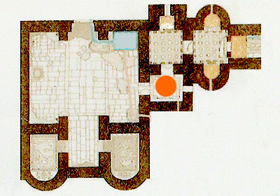 Apodyterium (changing room)