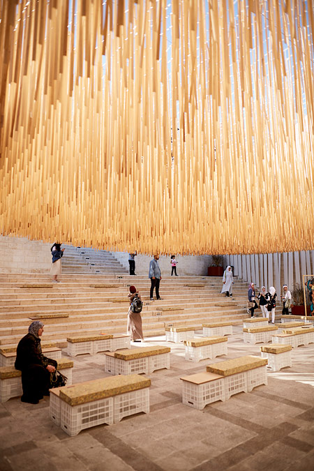 Zain Cultural Plaza   Al Hussein Cultural Center. The Crafts District,  Amman Design Week 2017
