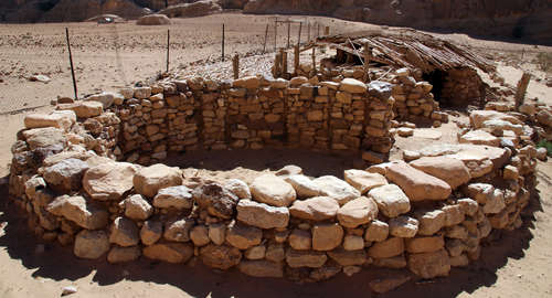 Neolithic village of Beidha