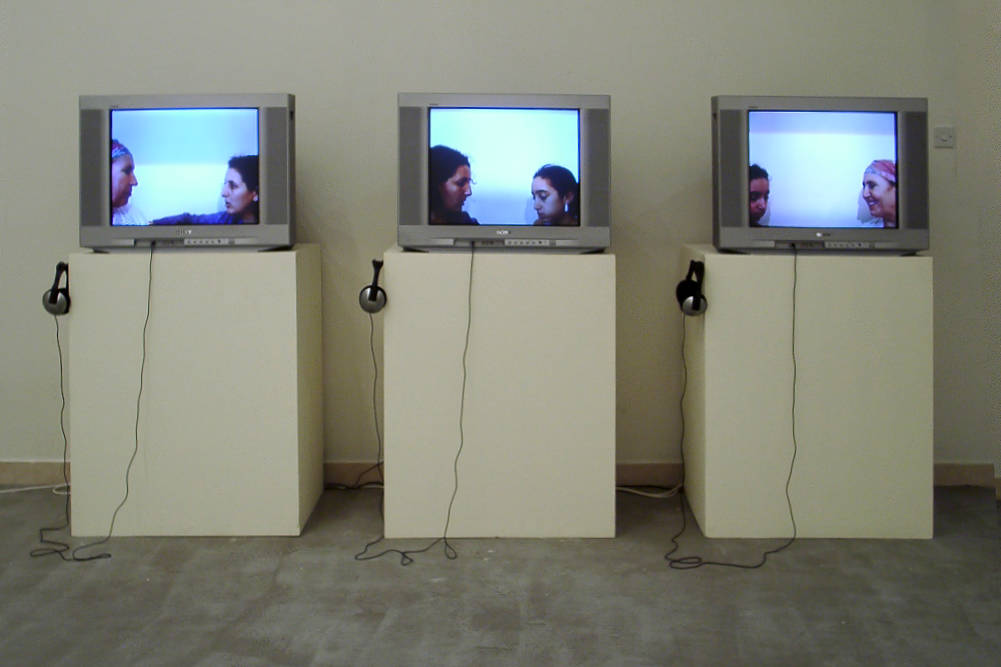 Zineb Sedira: Mother Tongue. 2002