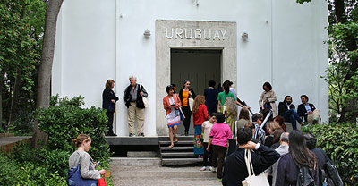 [Translate to DE:] Pavilion of Uruguay - Giardini