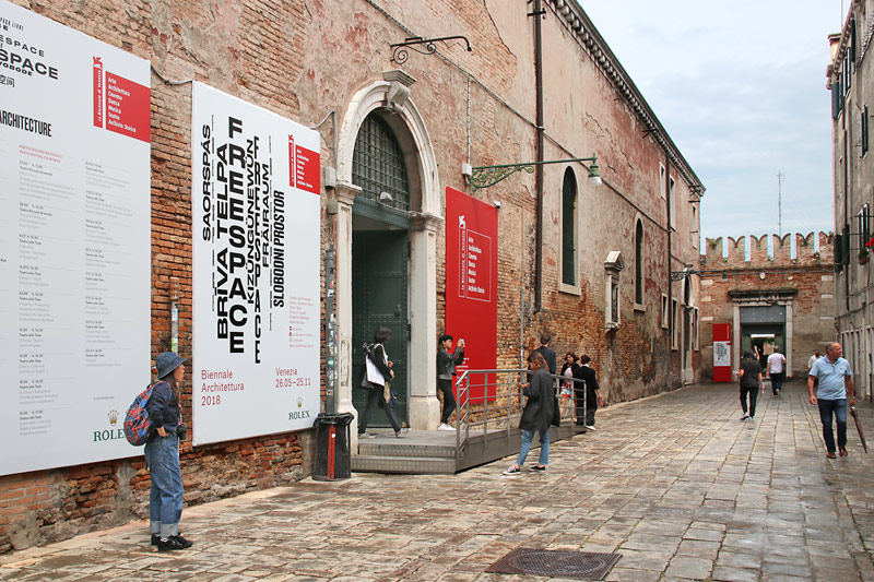 >> Arsenale Tour - Start