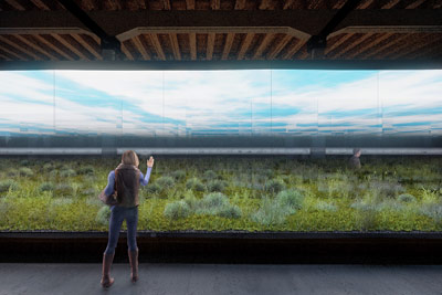 Installation rendering / © Image: National Pavilion of Argentina