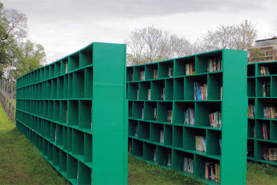 Massimo Bartolini, Booksyard, Ghent 2012