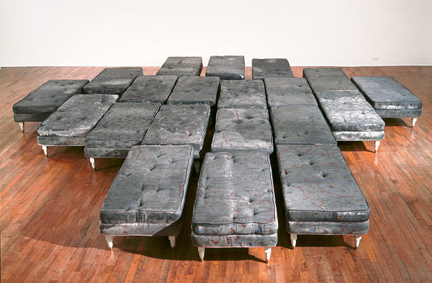 Guillermo Kuitca, Sin Título, 1992, Collection Tate