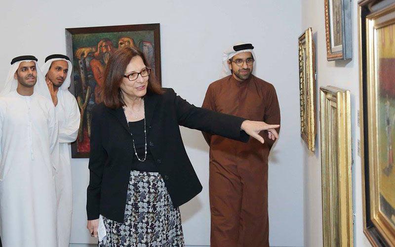 Salwa Mikdadi und Sultan Sooud Al Qassemi