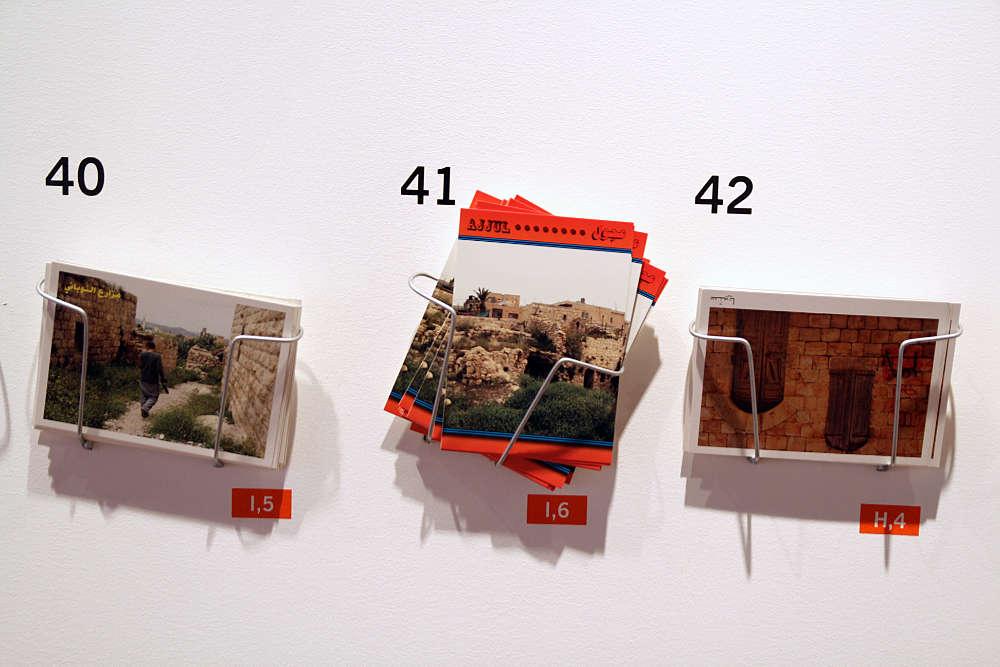 Khalil Rabah: 3rd Riwaq Biennale 2009, A Geography: Fifty Villages