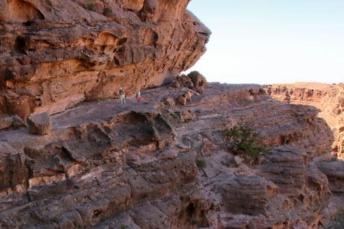 A Petra por la ruta trasera