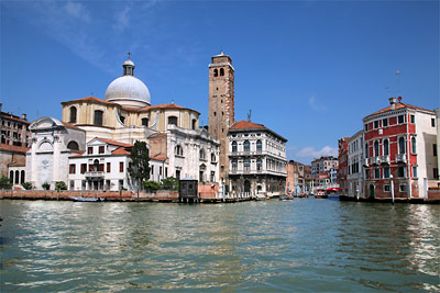 Canal Grande Tour in 5 parts