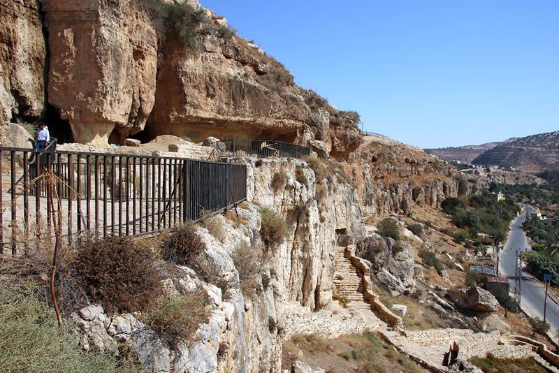 Alte Höhlen - Iraq al-Amir
