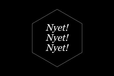 Treasure Island Collective, Nyet! Nyet! Nyet!, 2018