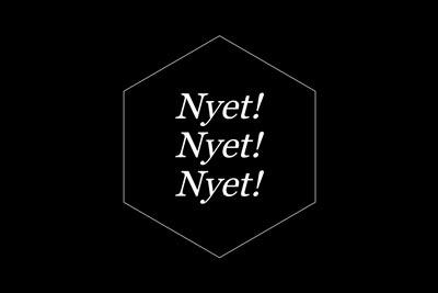 Treasure Island Collective, Nyet! Nyet! Nyet!, 2018