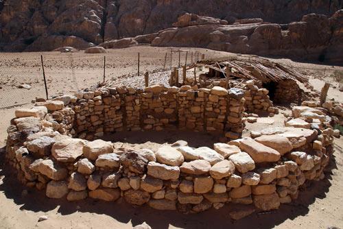 Neolithisches Dorf