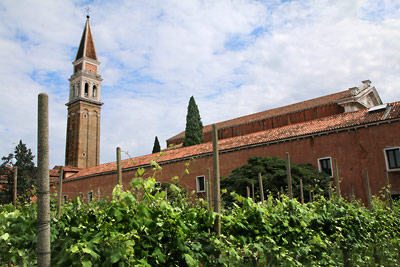 San Francesco della Vigna and surroundings