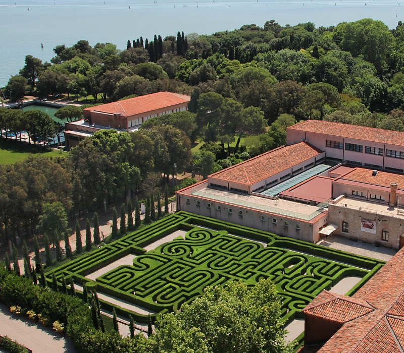 The Borges Labyrinth in Venice